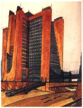Architettura futurista futurismonline for Disegno di architettura online